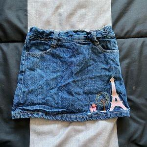 🎁10/$50🎁 Girls 👧 Gymboree Paris jean skirt